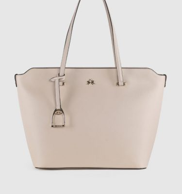 Borsa in similpelle La Martina Valeria Shopping bag Whisper Pink La Borsetta Como