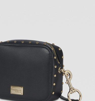 Borsa a tracolla in similpelle Dafne-camera-bag-TRUSSARDI-JEANS 8051932206468 Nero La Borsetta Como