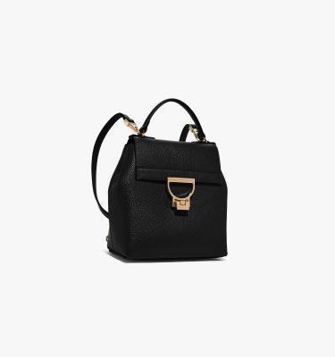 zaino borsa donna in pelle Arlettis Coccinelle Noir La Borsetta Como zaino