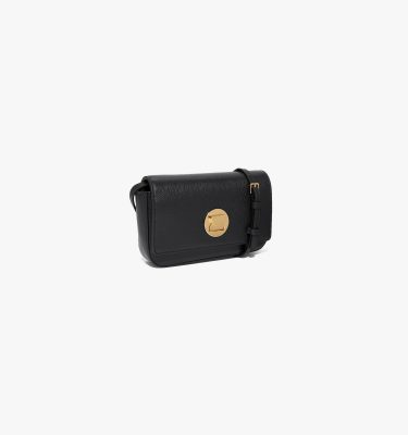 Borsa minibag donna a tracolla in pelle Liya Mini Coccinelle Noir La Borsetta Como