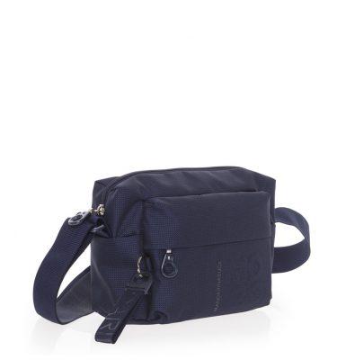 Borsa donna mini spalla tracolla in tessuto mitrix Mandarina Duck Dress Blue La Borsetta Como